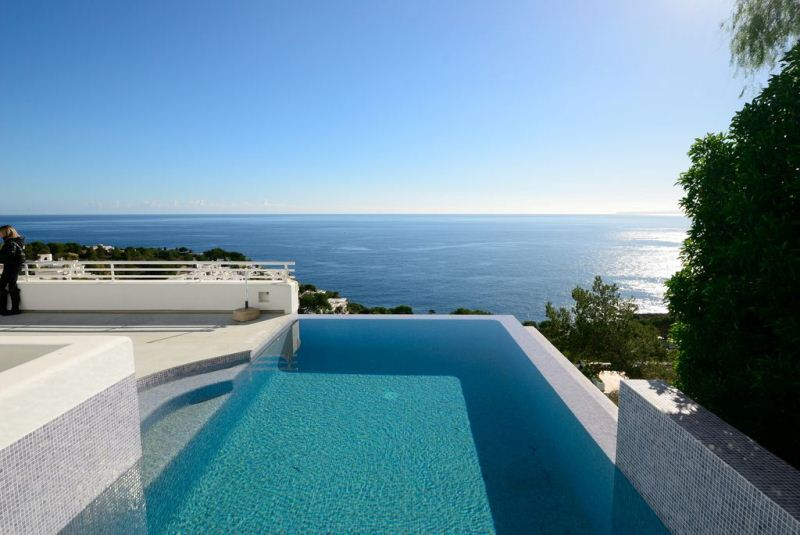 Amazing villa with great sea view and Formentera